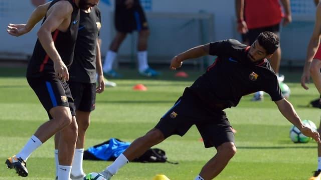 Gerard Piqué et Luis Suarez