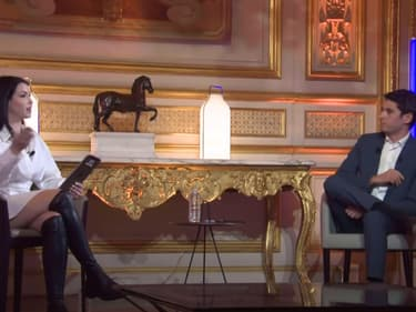 EnjoyPhoenix et Gabriel Attal dans l'émission #SansFiltre