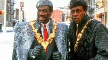 """Eddie Murphy et Arsenio Hall dans """"Un prince à New York"""""""