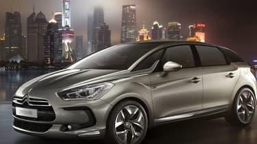 La DS5 LS est totalement adaptée aux contraintes du marché chinois.