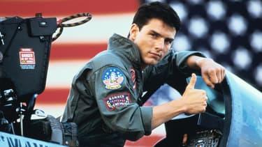 Tom Cruise dans le rôle de Maverick dans Top Gun