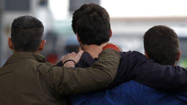 A Barcelone, des familles de passagers se sont retrouvés à l'aéroport où ils ont été pris en charge.