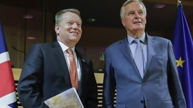 """Britanniques et Européens se retrouvent ce mardi 2 juin par visioconférence pour une nouvelle session de discussions sans grand espoir de progrès, malgré la pression du calendrier et le risque d'un """"no deal""""."""