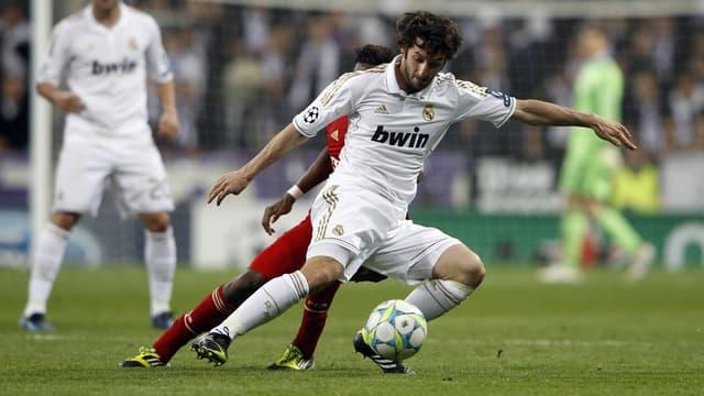 Esteban Granero avec le Real Madrid en Ligue des champions, le 25 avril 2012