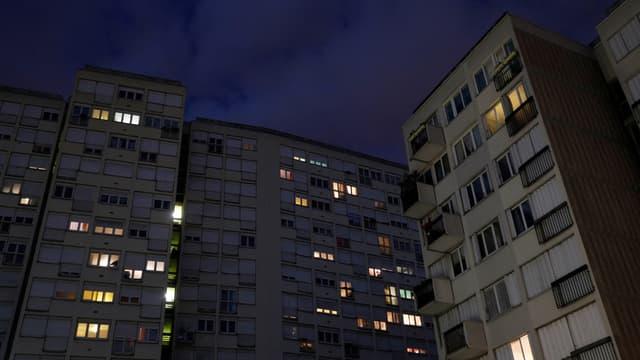 Des immeubles à Saint-Ouen.