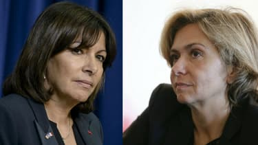 Anne Hidalgo et Valérie Pécresse.