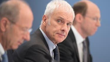 Matthias Müller, actuel PDG du groupe Volkswagen pourrait empocher 45 millions d'euros en cas de départ. (image d'illustration)