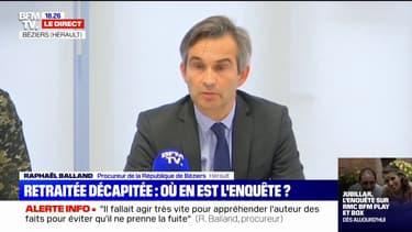 """Retraitée décapitée à Agde: l'épouse du suspect """"était une ancienne femme de ménage"""" de la victime, lui """"effectuait des petits boulots"""" chez elle"""