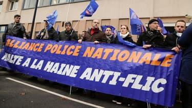 Le syndicat Alliance a appelé à un rassemblement après l'agression de deux policiers à Champigny.