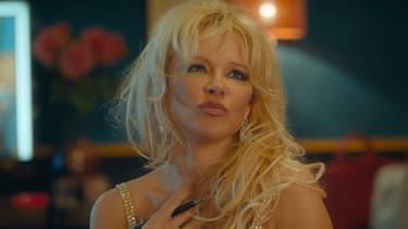 """Pamela Anderson dans """"Nicky Larson et le parfum de Cupidon"""""""