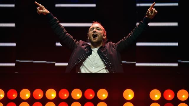 David Guetta en concert en septembre 2015 à Las Vegas