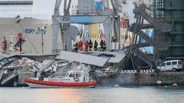 Collision meurtrière dans le port de gênes