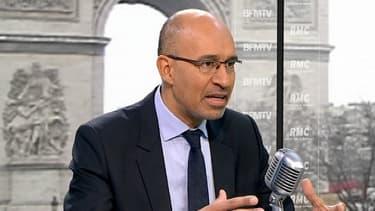 Le Premier secrétaire du Parti socialiste Harlem Désir
