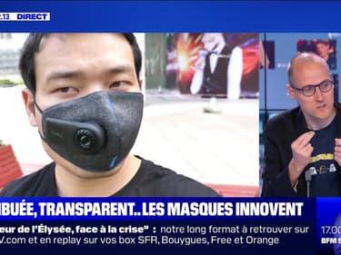 Antibuée, transparents ... les masques de protection se réinventent - 11/06