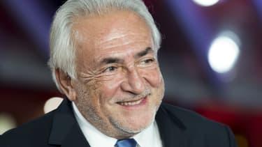 L'ancien directeur général du Fonds monétaire international (FMI) et ex-ministre PS Dominique Strauss-Kahn, le 5 décembre 2016 au Festival international du film de Marrakech.