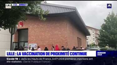 Hauts-de-France: la vaccination de proximité attire les foules