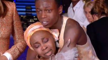 Azize Diabaté et sa mère Kadiatou