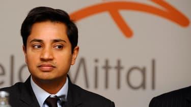 Le directeur financier d'ArcelorMittal, Aditya Mittal.
