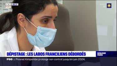 Dépistage: les laboratoires franciliens débordés