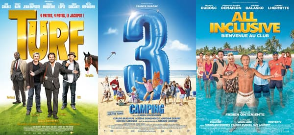Affiches de Turf, Camping 3 et All Inclusive