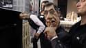 Les marionettes de Patrick Poivre d'Arvor et Silvester Stallone dans Les Guignols de l'info.