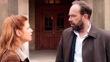 """Marina Foïs et Olivier Gourmet dans """"Une intime conviction"""""""