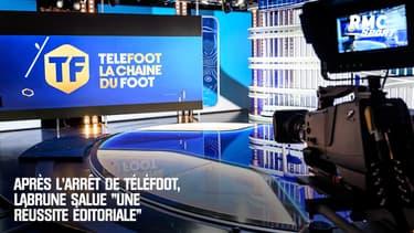 """Droits TV : après l'arrêt de Téléfoot, Labrune salue """"une réussite éditoriale"""""""