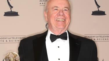 """Tim Conway aux Emmy Awards 2008, où il a remporté un prix pour son rôle de guest dans """"30 Rock"""""""