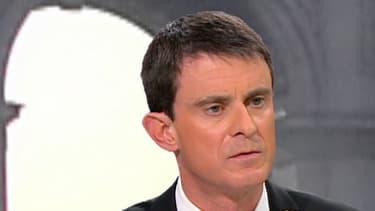 """Manuel Valls invité de Jean-Jacques Bourdin dans son émission """"Bourdin Direct"""""""