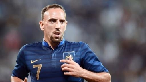 Franck Ribéry a ouvert le score pour les Bleus.