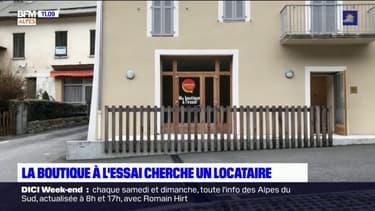 Alpes-de-Haute-Provence: au Lauzet-Ubaye, une boutique à l'essai ouverte aux candidatures