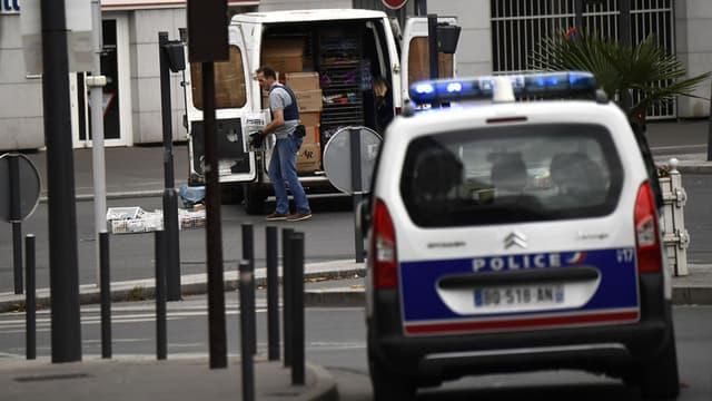 Un quartier de Villejuif a été bouclé par la police.