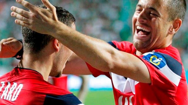 Eden Hazard et Joe Cole