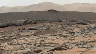 La sonde américaine Curiosity a pour la toute première fois découvert à la surface de Mars des preuves directes de l'existence de ce qui fut autrefois un lac