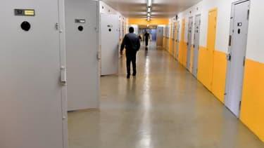 Photographie prise à la prison Mont-de-marsan, le 26 janvier 2017