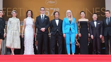 Le jury cannois, le 14 mai, lors de la cérémonie d'ouverture.