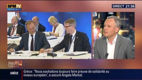 """Crise grecque (2/2): """"On a l'impression qu'Aléxis Tsípras cherche à gagner du temps"""", a estimé François de Rugy"""
