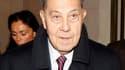 """Le parquet a demandé mardi la relaxe de l'ancien ministre de l'Intérieur Charles Pasqua, poursuivi pour trafic d'influence passif et corruption d'agents publics étrangers en marge du programme """"Pétrole contre nourriture"""" dans l'Irak de Saddam Hussein. Il"""