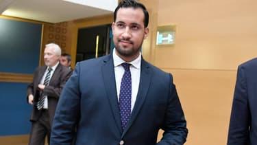 Alexandre Benalla lors de son audition devant la Commission des lois au Sénat le 19 septembre 2018