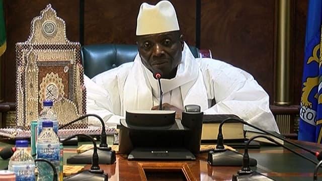 Le président gambien Yahya Jammeh a rejeté les résultats de l'élection du 1er décembre.