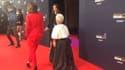 Camille Cottin et Mimie Mathy sur le tapis rouge des César