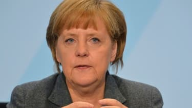 Angela Merkel a tenu à maintenir la pression sur la Grèce.