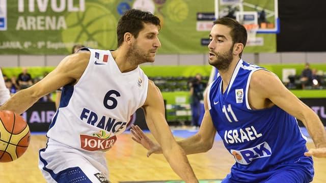 Antoine Diot et les Bleus ont battu Israël (82-63)