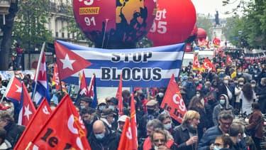 Défilé du 1er mai 2021 à Paris
