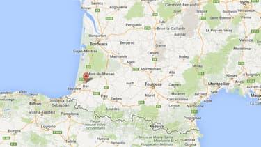 L'accident s'est produit à hauteur de Saint-Paul-lès-Dax, dans les Landes.