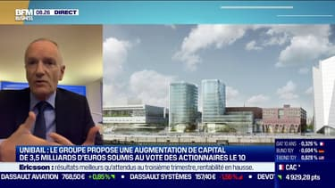 """""""Ne pas prendre la décision d'augmenter le capital serait irresponsable"""" explique Christophe Cuvillier, président du direction d'Unibail Rodamco Westfield"""