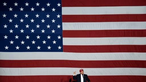 Donald Trump lors d'un discours à Boca Raton en Floride, le 13 mars 2016
