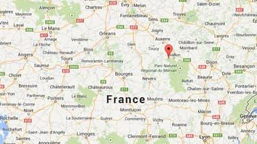 La fusillade a éclaté à Vézelay, dans l'Yonne, lors d'une sortie scolaire d'un groupe de lycéens parisiens.