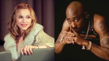 Madonna et Tupac Shakur ont vécu une brève histoire d'amour en 1995, près de deux ans avant l'assassinat du rappeur.