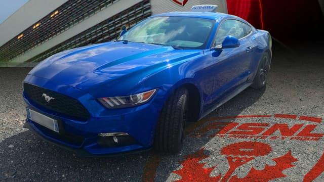 L'auto-école Henry dans le Grand Est s'est offert cette Mustang